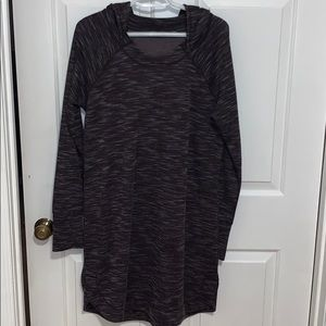 Athleta pullover dress- size large